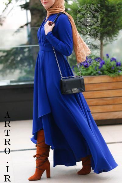 جدیدترین مدلهای مانتو بلند زنانه