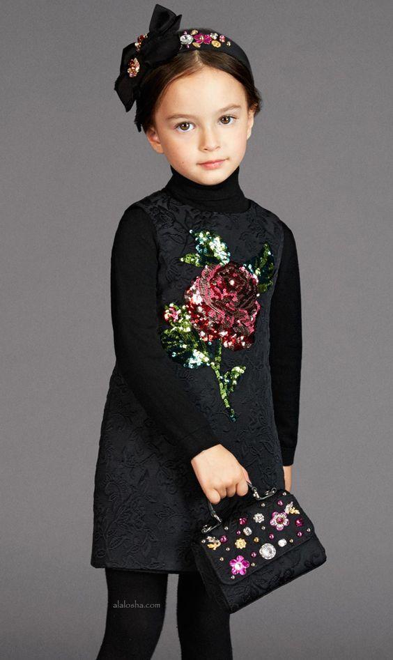 مدل لباس پاییزی بچه گانه