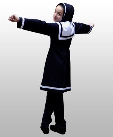مدل مانتو مدرسه ای5