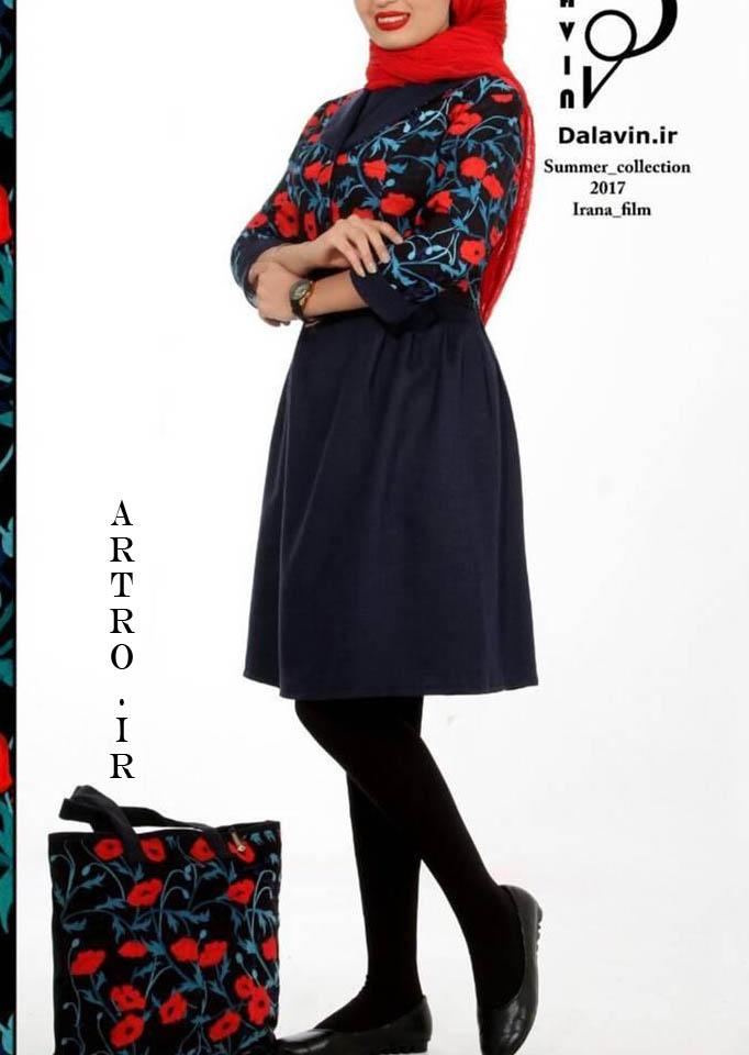 مدل مانتو کوتاه دخترانه تابستانی2018-2019