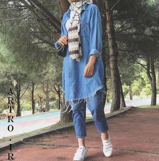 مدل مانتو جین زنانه