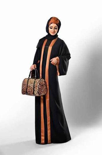 مدل مانتو بلند عربی مجلسی,