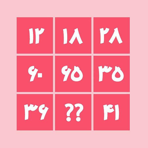تست هوش منطقی اعداد | عدد مجهول را پیدا کنید | تست هوش
