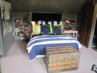دکوراسیون اتاق خواب پسرانه   دکوراسیون داخلی اتاق پسرانه