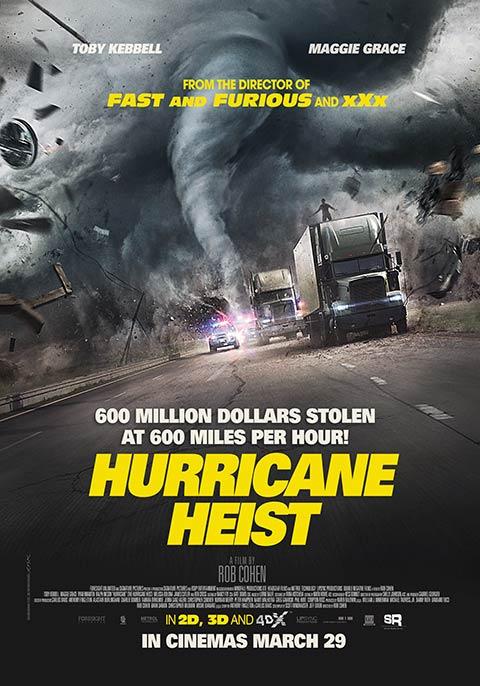 فیلم سرقت طوفانی The Hurricane Heist 2018
