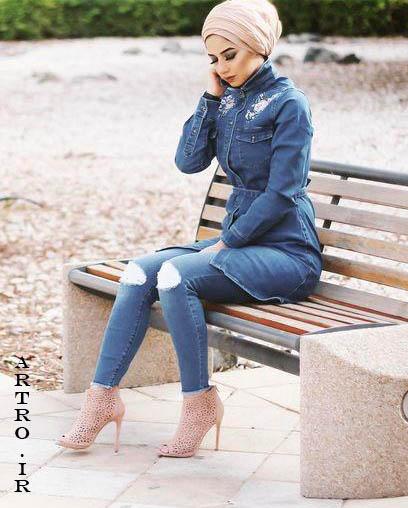 جدیدترین مدل مانتو جین دخترانه4