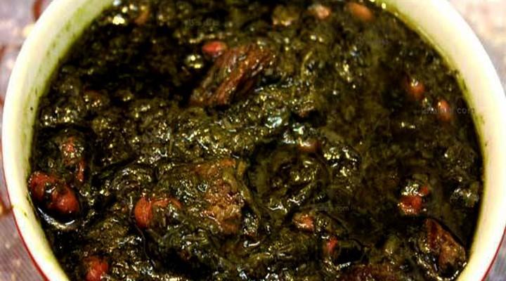 طرز تهیه قرمه سبزی
