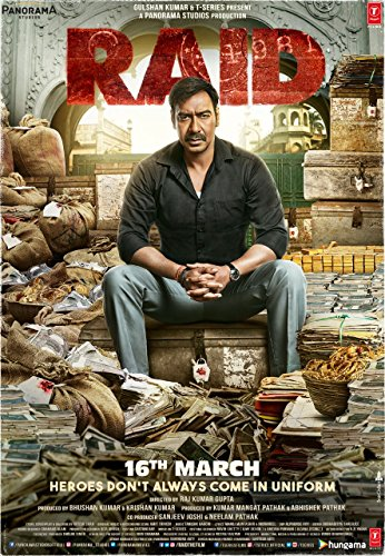 دانلود فیلم هندی اکشن Raid 2018