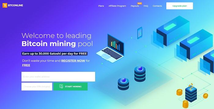 معرفی یکی از بهترین سایت های کسب بیت کوین رایگان Btc Online