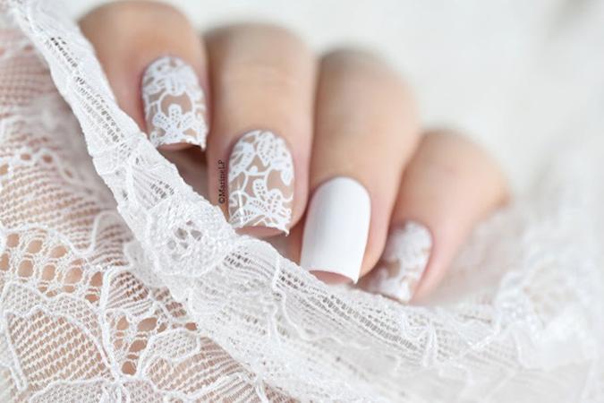 مدل طراحی ناخن عروس10