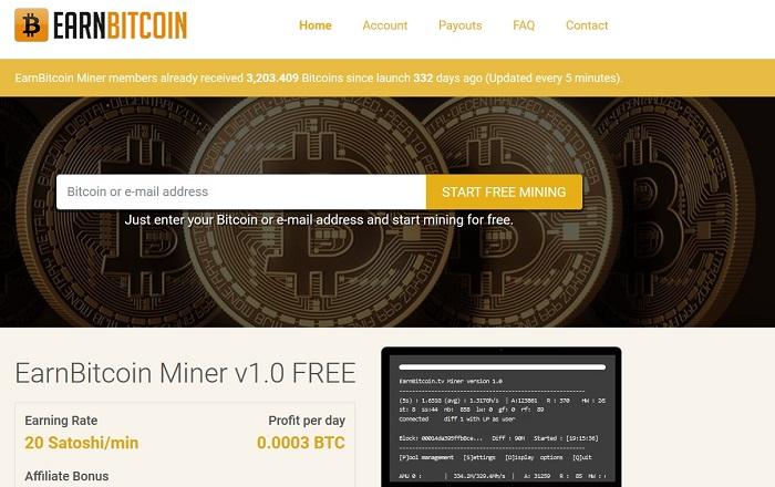 آموزش تصویری کسب بیت کوین رایگان از وبسایت Earn Bitcoin
