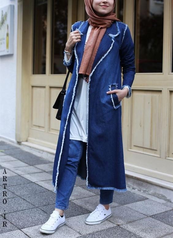 مدل مانتو لی اینستاگرام