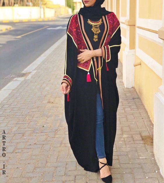 مدل مانتو عربی کویتی