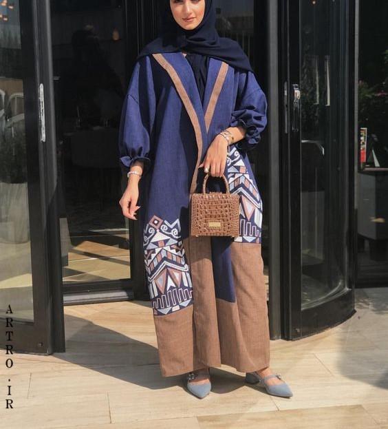 مدل مانتو عربی اماراتی