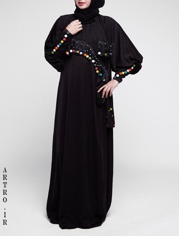 مدل مانتو عربی بلند