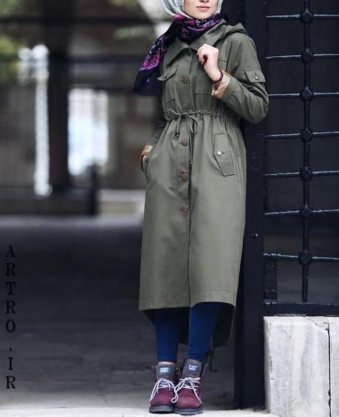 مدل مانتو پاییزی دخترانه