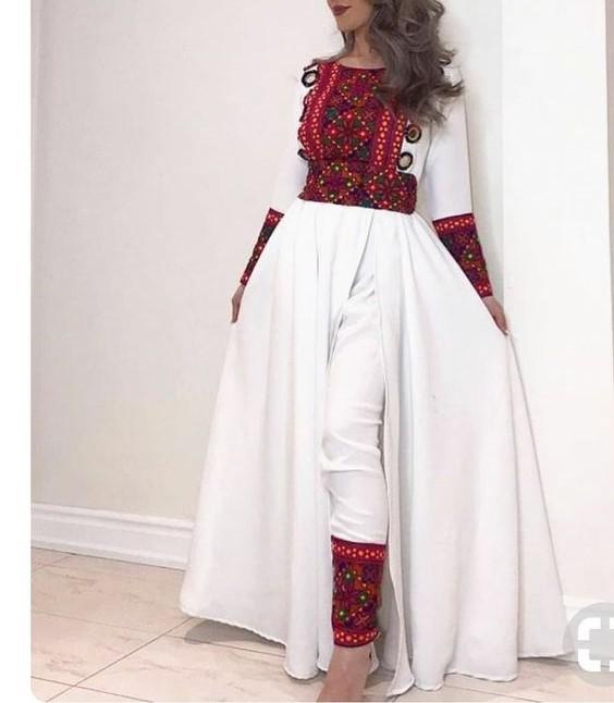 مدل لباس افغانی زنانه جدید 6