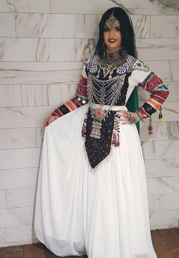مدل لباس افغانی زنانه جدید 9