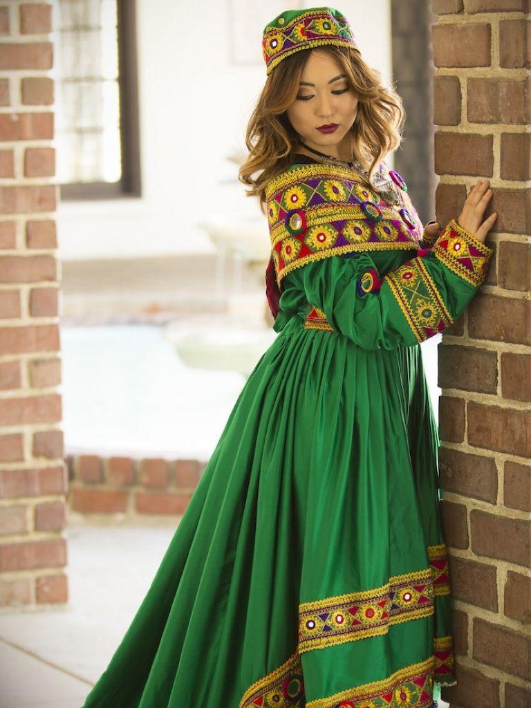 مدل لباس زنانه افغانی8
