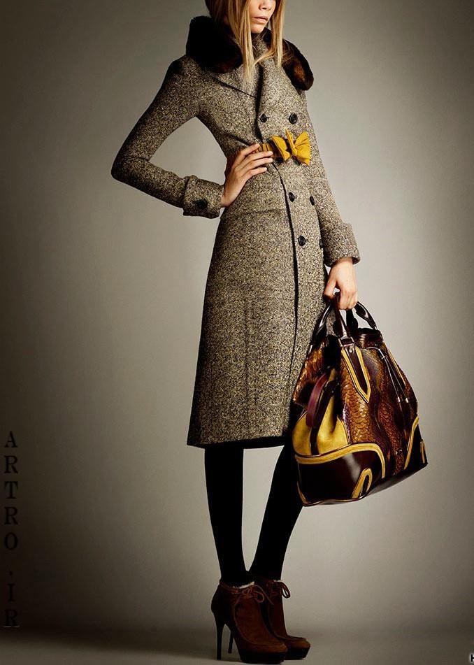 مدل پالتو زنانه8