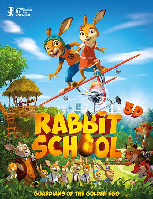 دانلود انیمیشن مدرسه خرگوش ها Rabbit School 2017