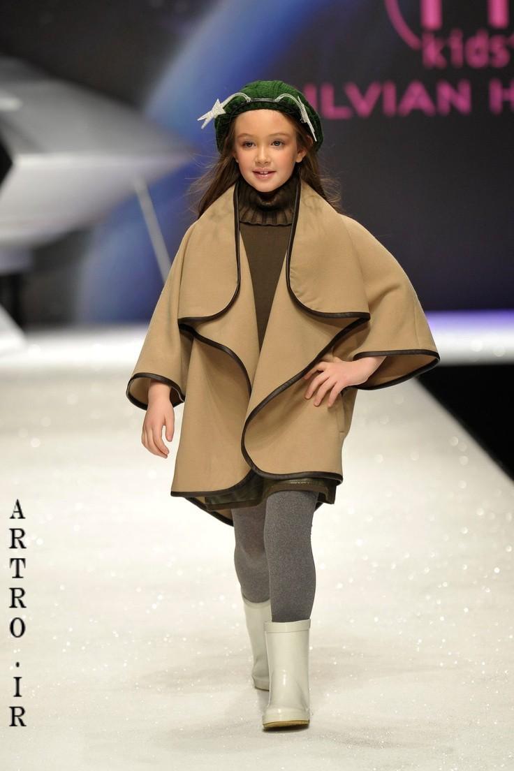 جدیدترین مدل پالتو دختر بچه ها 9