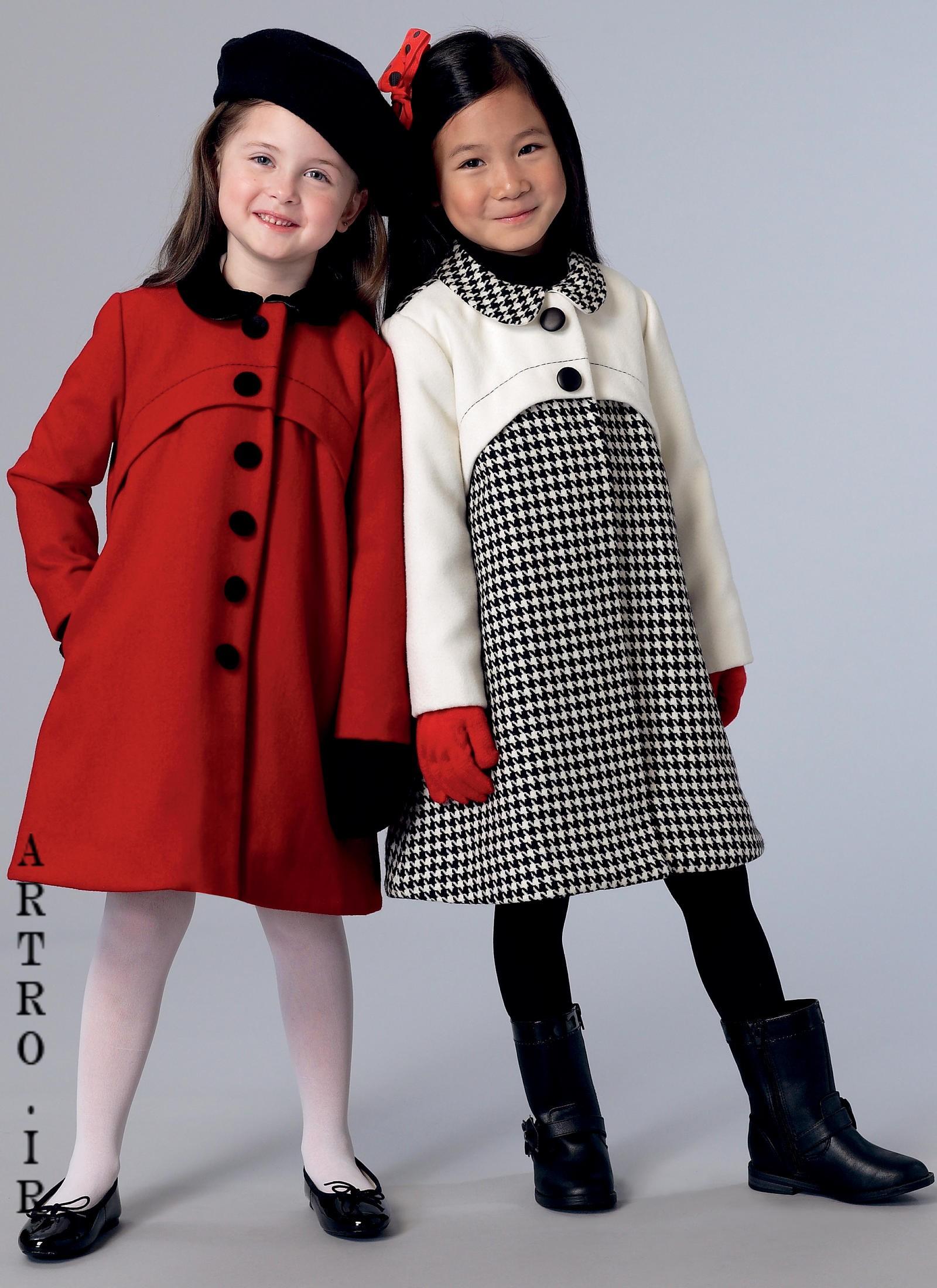 جدیدترین مدل پالتو دختر بچه ها 12