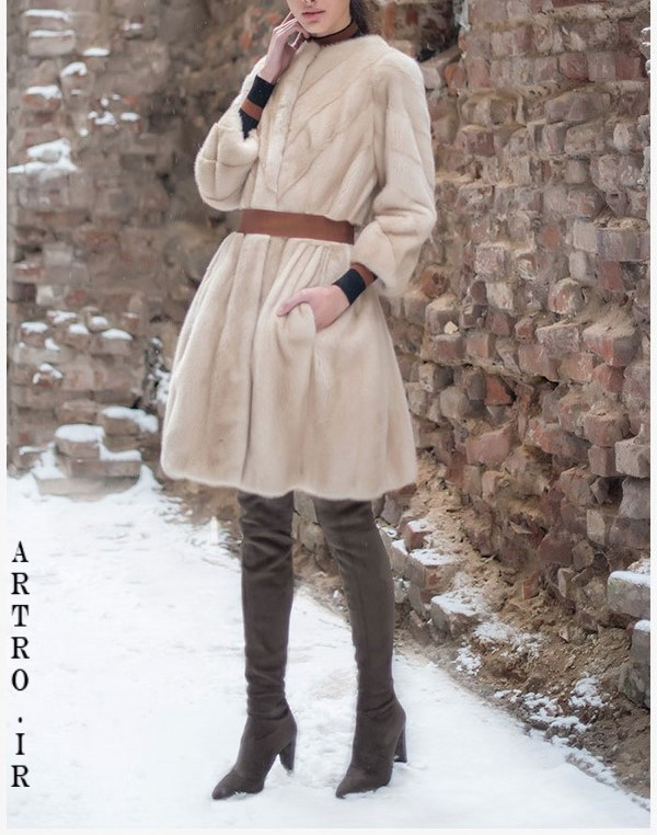 مدل پالتو پوست جدید زنانه1