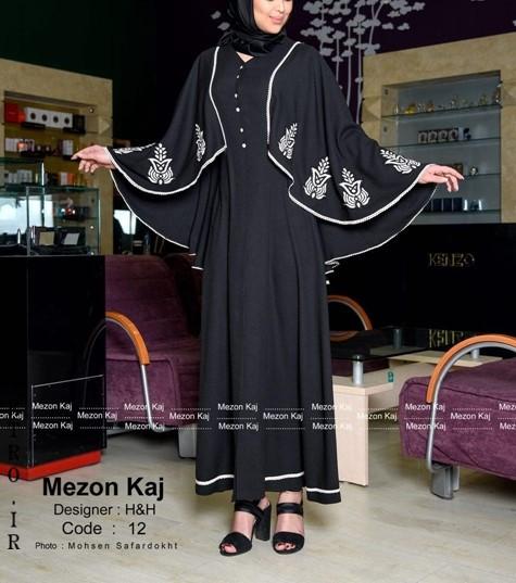 مدل مانتو بلند حجابی 97