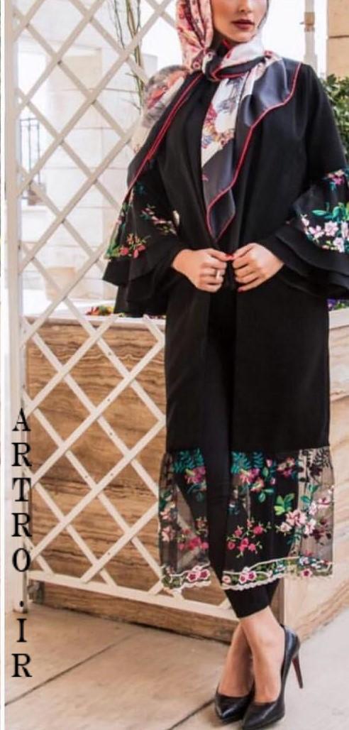 عکس مدل مانتو دخترانه زنانه 2019