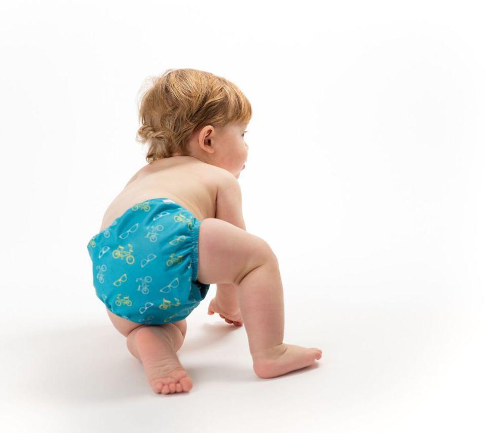 آموزش درست کردن پوشک بچه با تیشرت