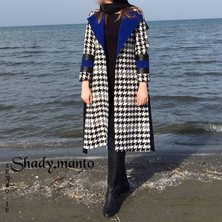 مدلهای مانتو چهارخونه دخترانه