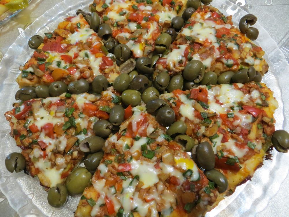 پیتزا خانگی (بدون فر)