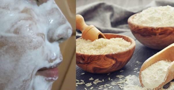 ماسک آرد و برنج