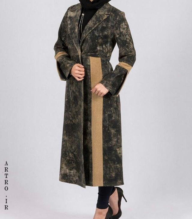 مدل مانتو پاییزی جیر
