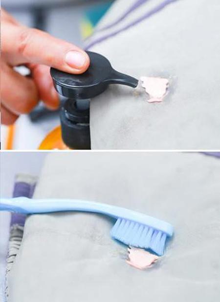طرز پاک کردن آدامس از روی لباس, تکنیک های پاک کردن آدامس از لباس