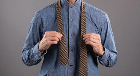 نحوه ی گره زدن کروات, آموزش تصویری گره زدن کراوات