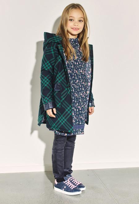 جدیدترین لباس های پاییز و زمستان دخترانه, مدل پالتو دخترانه