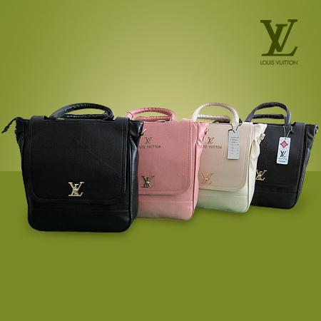 خرید کیف زنانه لویی ویتون مدل مورگان رنگ مشکی، قهوه ای، صورتی و کرم