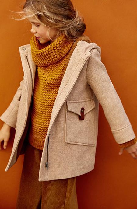 مدل پالتو دخترانه بچه گانه