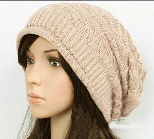 کلاه بافتنی زنانه3