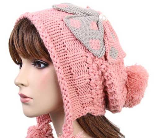 کلاه بافتنی زنانه4