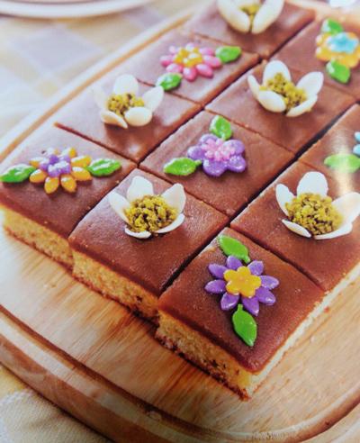 طرز تهیه حلوا کیک