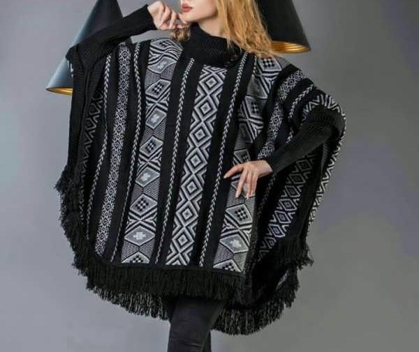 مدل شنل بافتنی زنانه جدید