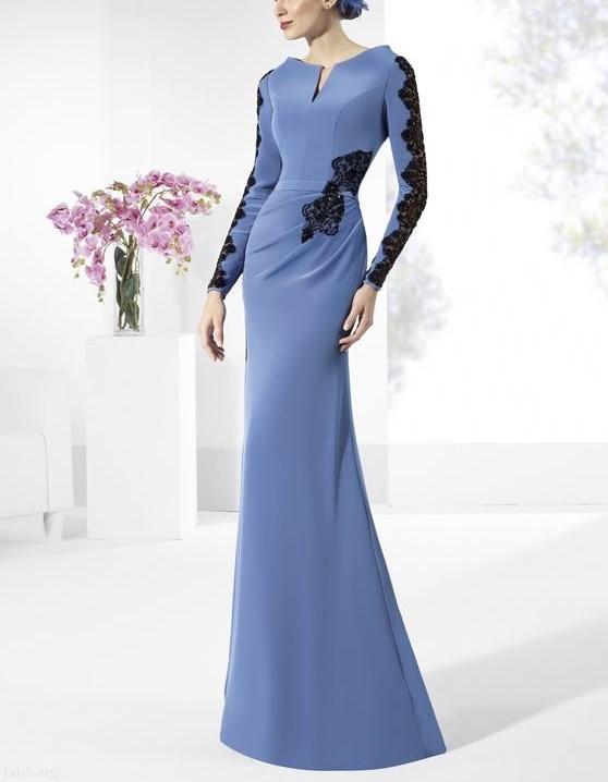 مدل لباس مجلسی اندامی
