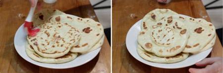مواد لازم برای تهیه نان هندی,پخت نان هندی