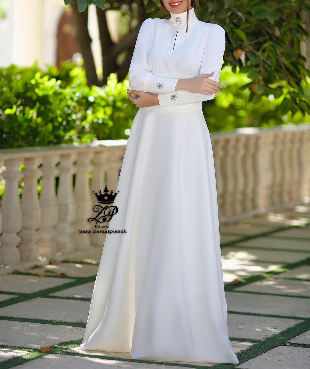 مدل لباس عروس ایرانی اسلامی