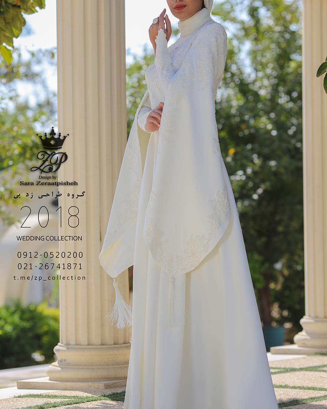 مدل لباس عروس ایرانی ۲۰۱۸