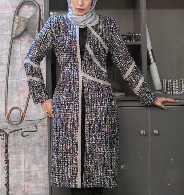 مدل مانتو زمستانه دخترانه