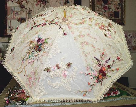 مدل چتر سفید عروس